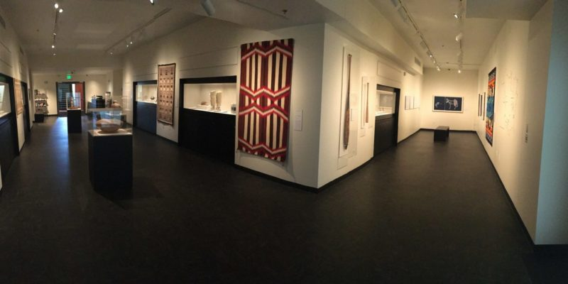 Panorama of the Gregory Allicar Museum of Art, Americas Gallery