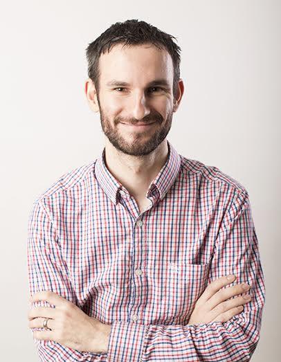 Headshot of Peter Harris, recipient of Ann Gill Faculty Development Award