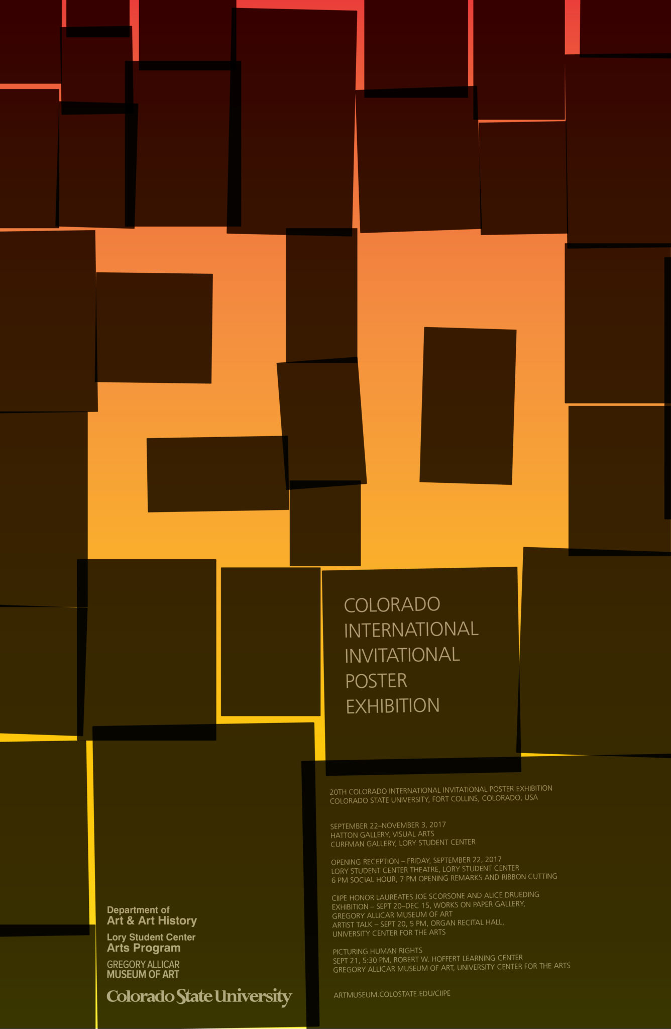 Landmark For A Legend 20th International Poster Exhibition Opens At