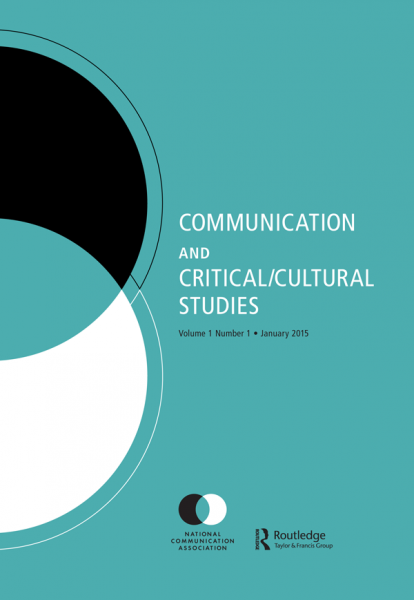 "Journal cover for the ""Communication and Critical/Cultural Studies"""