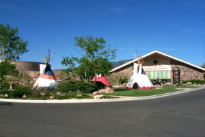 Outside view of the Buffalo Bill Center of the West