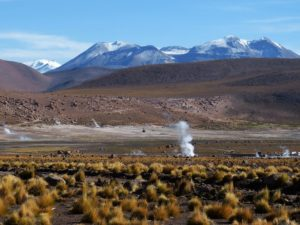 Latin America landscape
