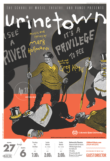 Urinetown promotional poster