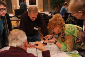 CPD forum participants discuss issue over map