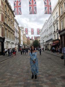 Rachel Surratt in London, England.