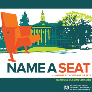 Name a Seat at the University Center for the Arts