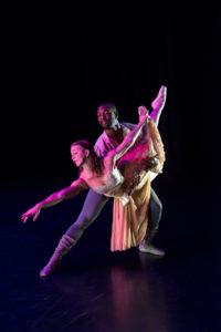 Madeline and Matthew Harvey dancing