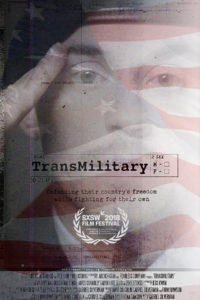 Poster for film titled TransMilitary