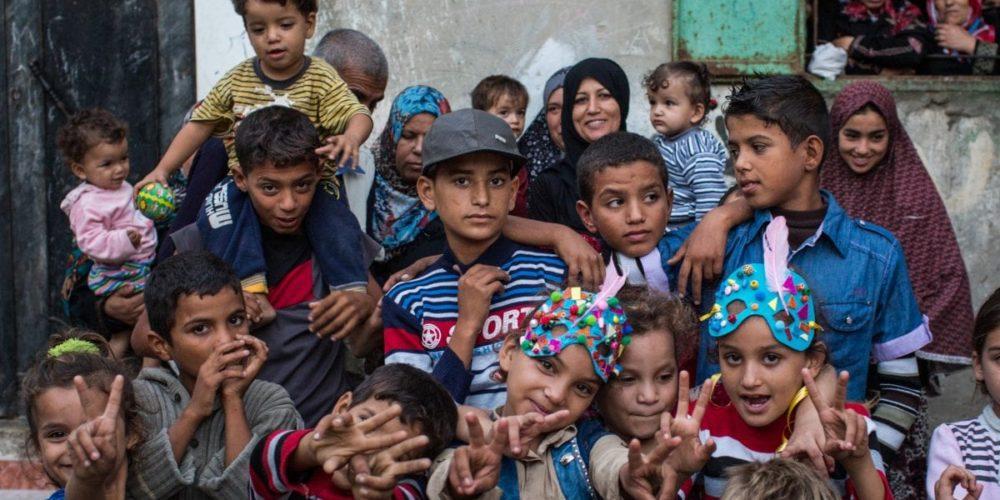 children from 'Gaza' documentary