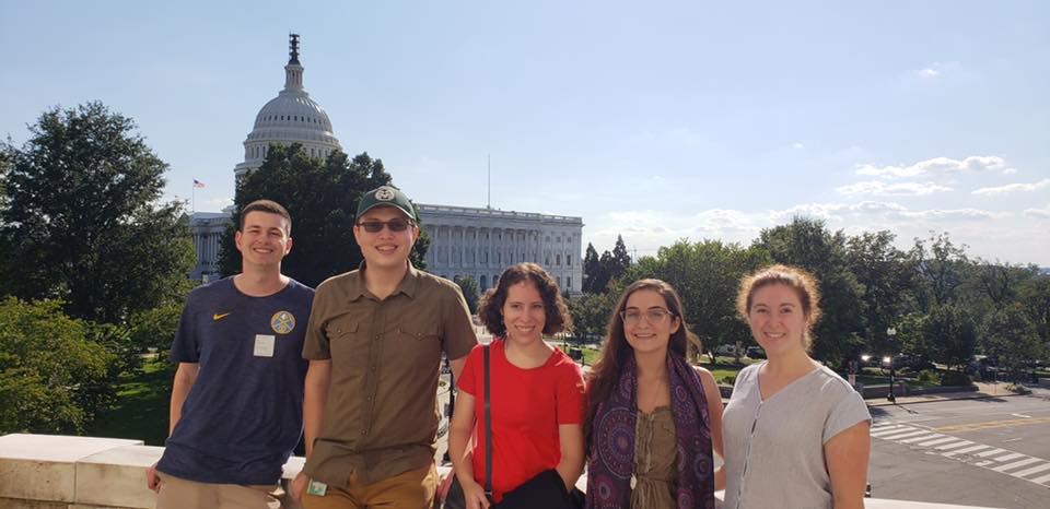 CSU students interning in DC in Fall 2018