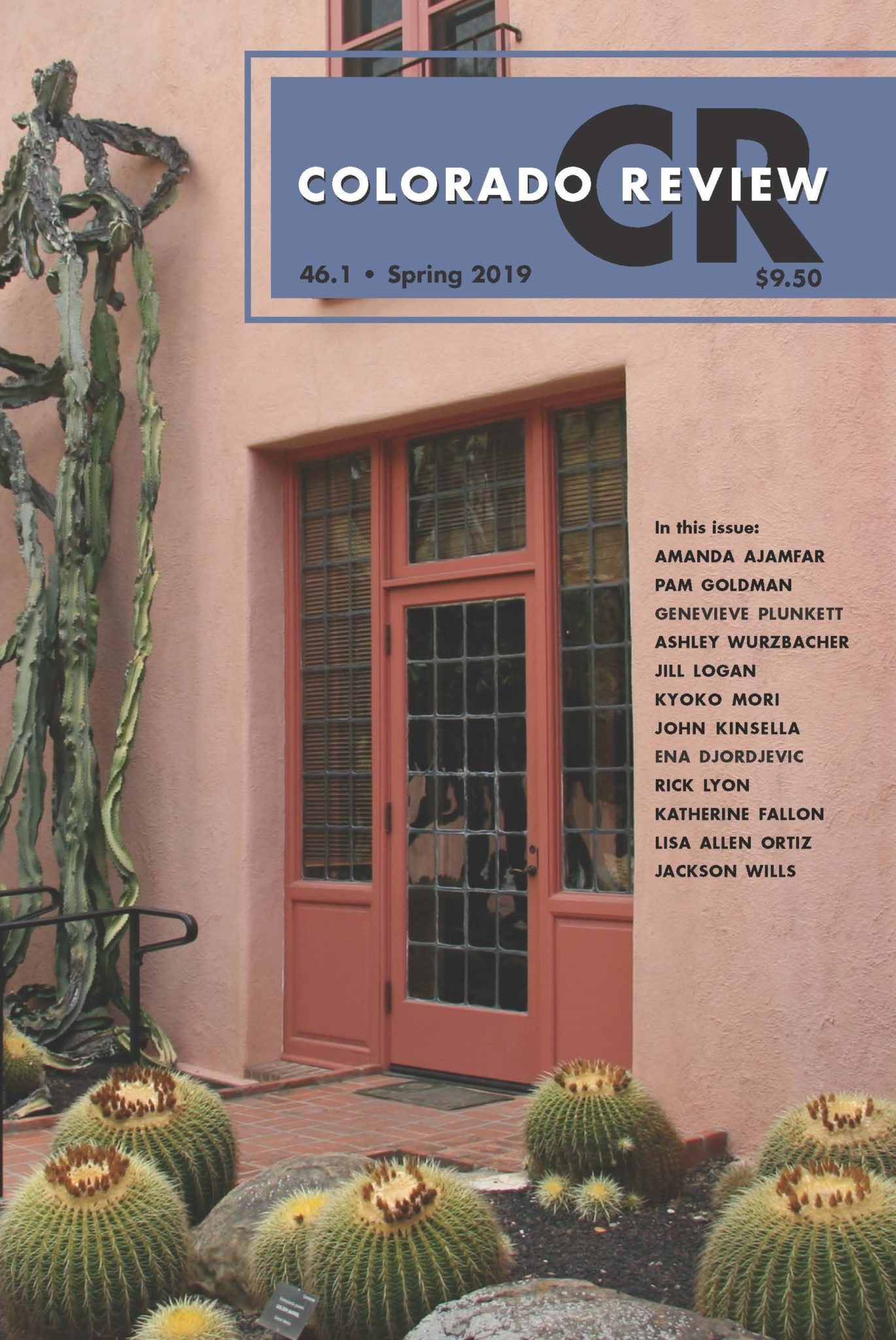 Colorado Review Spring 2019 front cover