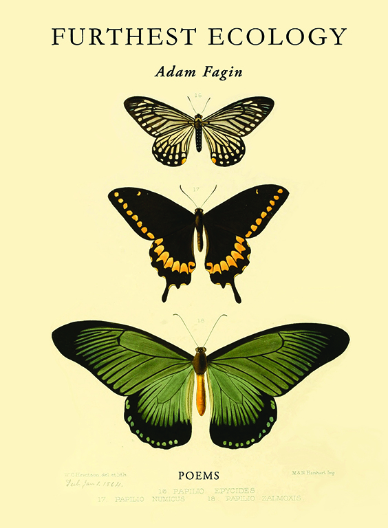 Cover of Adam Fagin's Furthest Ecology book of poems
