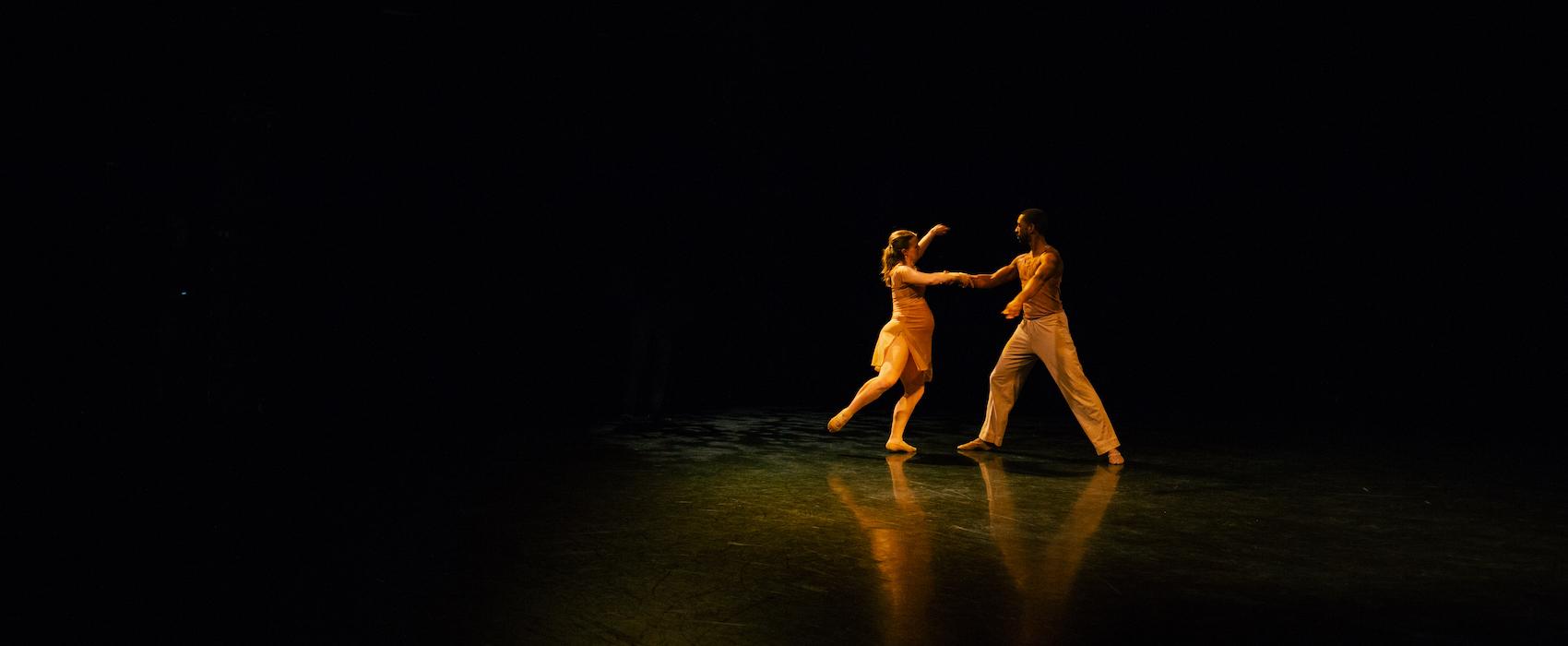 The Harveys dancing