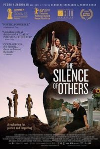 Movie poster for award willing documentary film THE SILENCE OF OTHERS