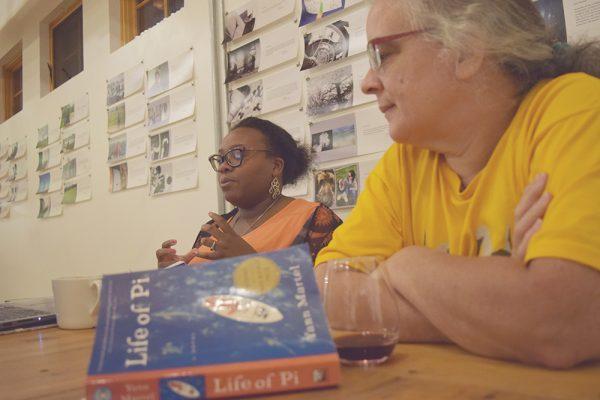 Rekindle the Classics participants discuss Life of Pi by Yann Martel