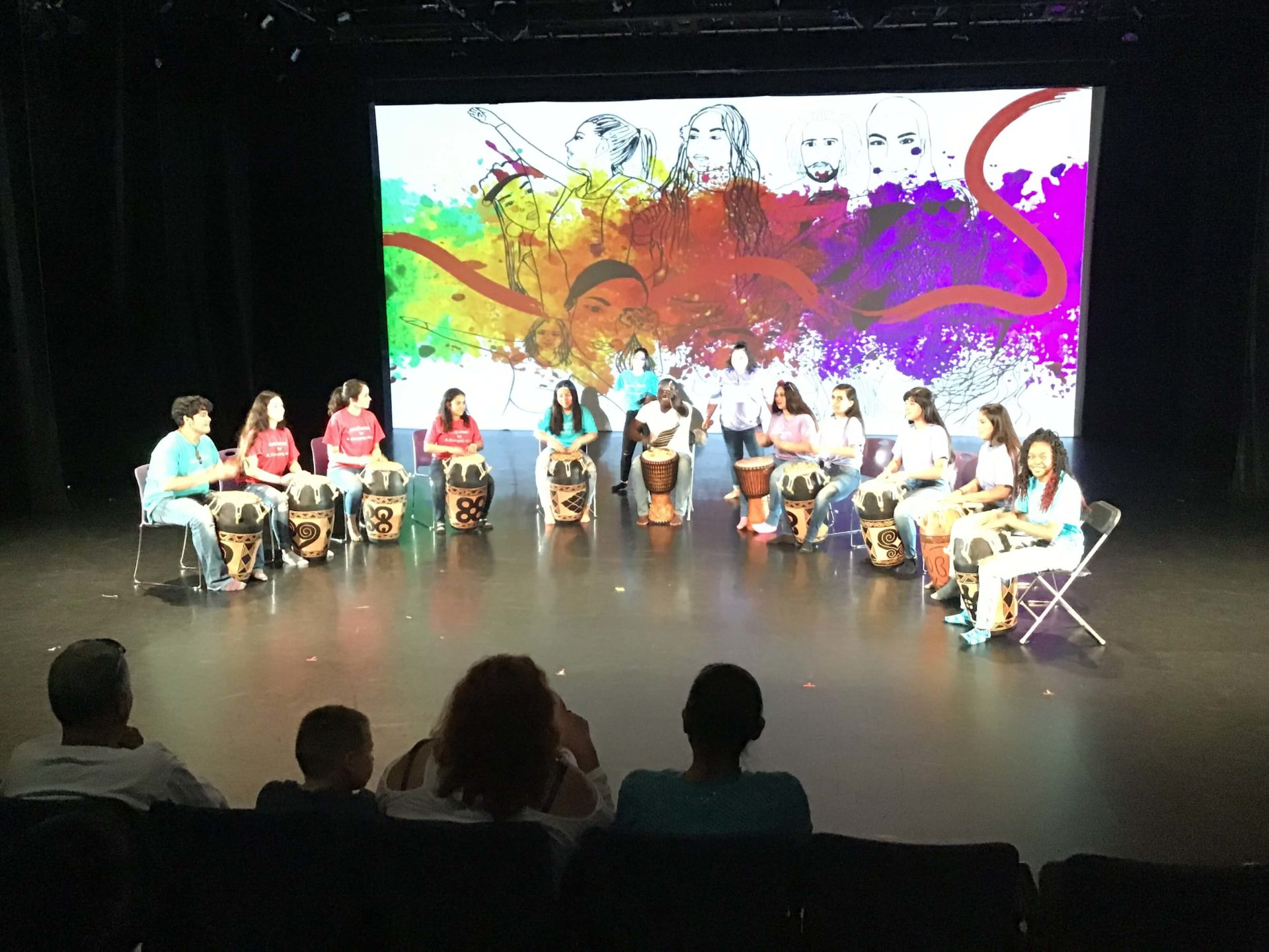 Social Justice Thru the Arts 2019 music performance