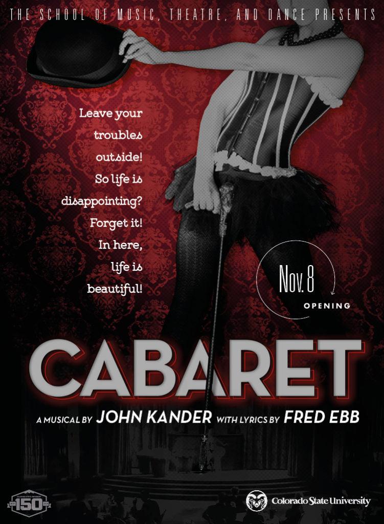 Cabaret Promo Poster