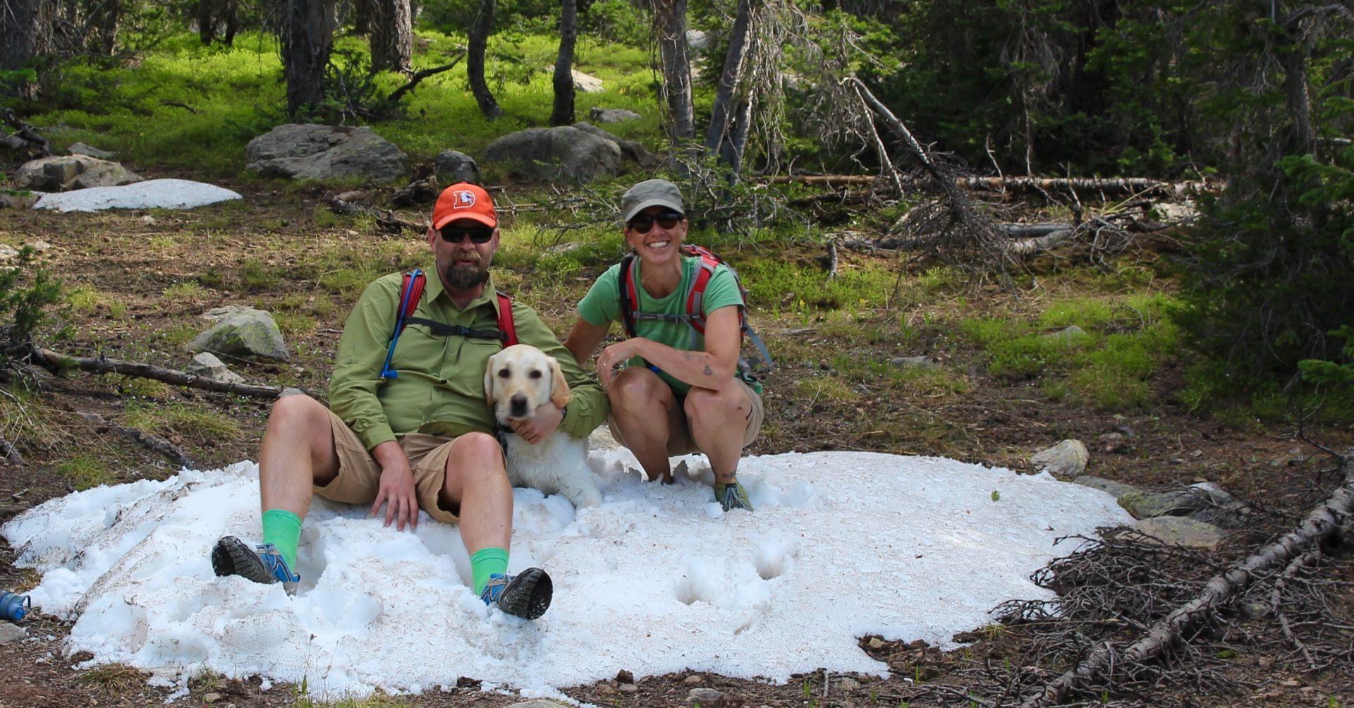 Michael and Leisl in Uintah National Forest