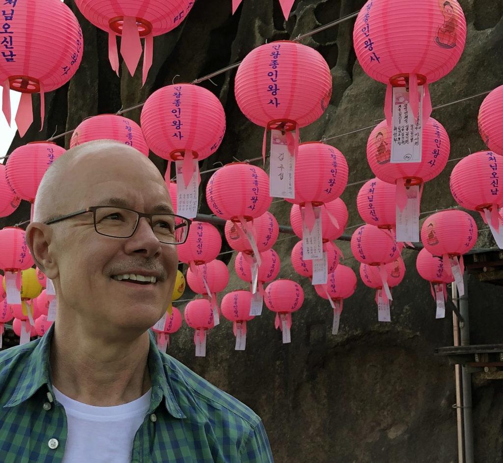 Tom Lundberg in South Korea