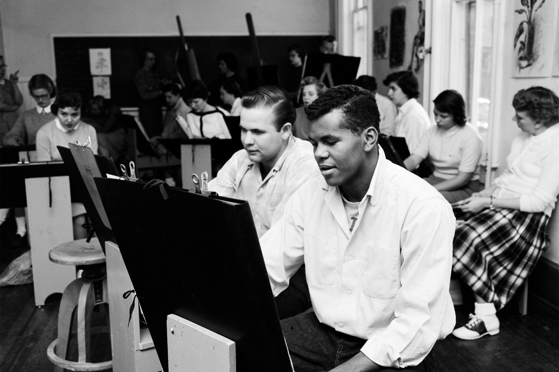 CSU 1956 Art Class