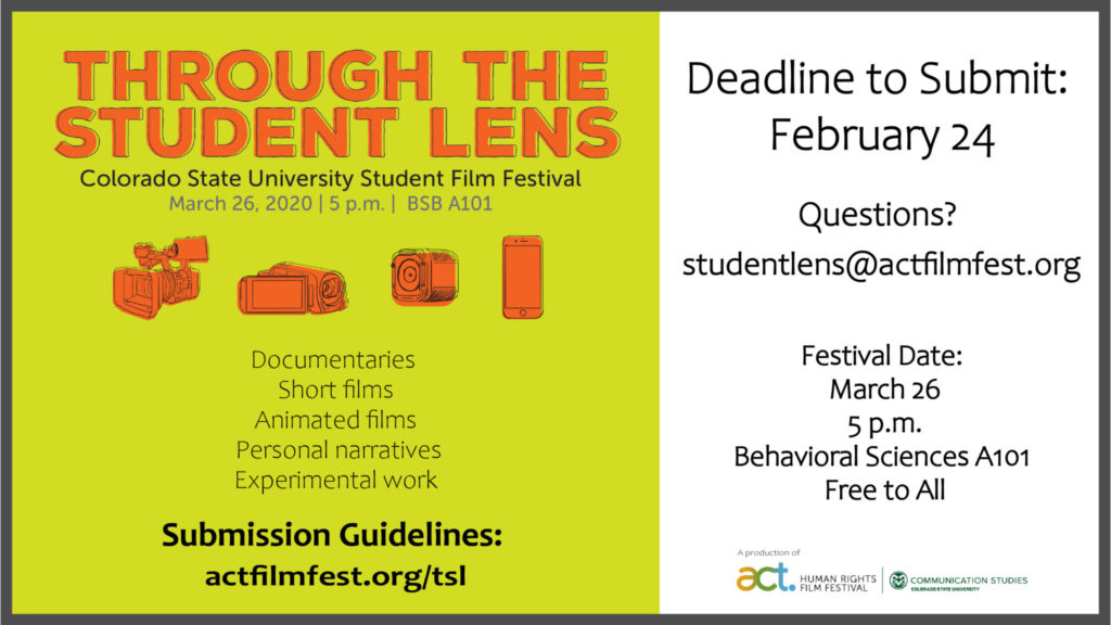 Through the student lens call for submissions
