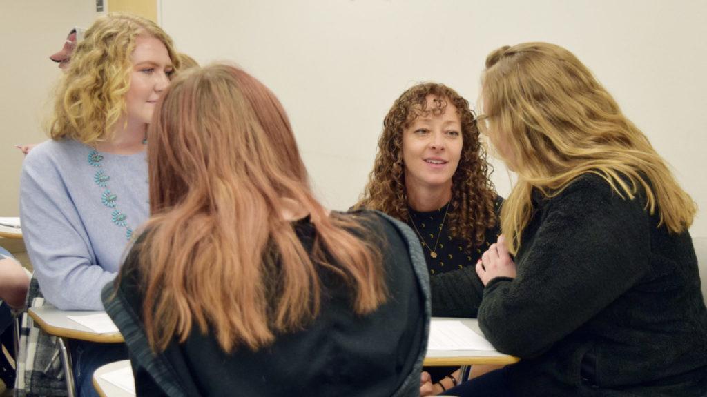 Ramona Ausubel coaching students