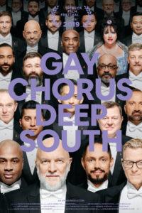 Promo poster for film Gay Chorus Deep South