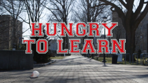 Poster for film Hungry to Learn