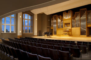 CSU Organ Recital Hall in the University Center for the Arts