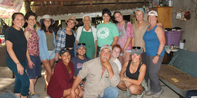 Andrea Purdy with group from Todos Santos