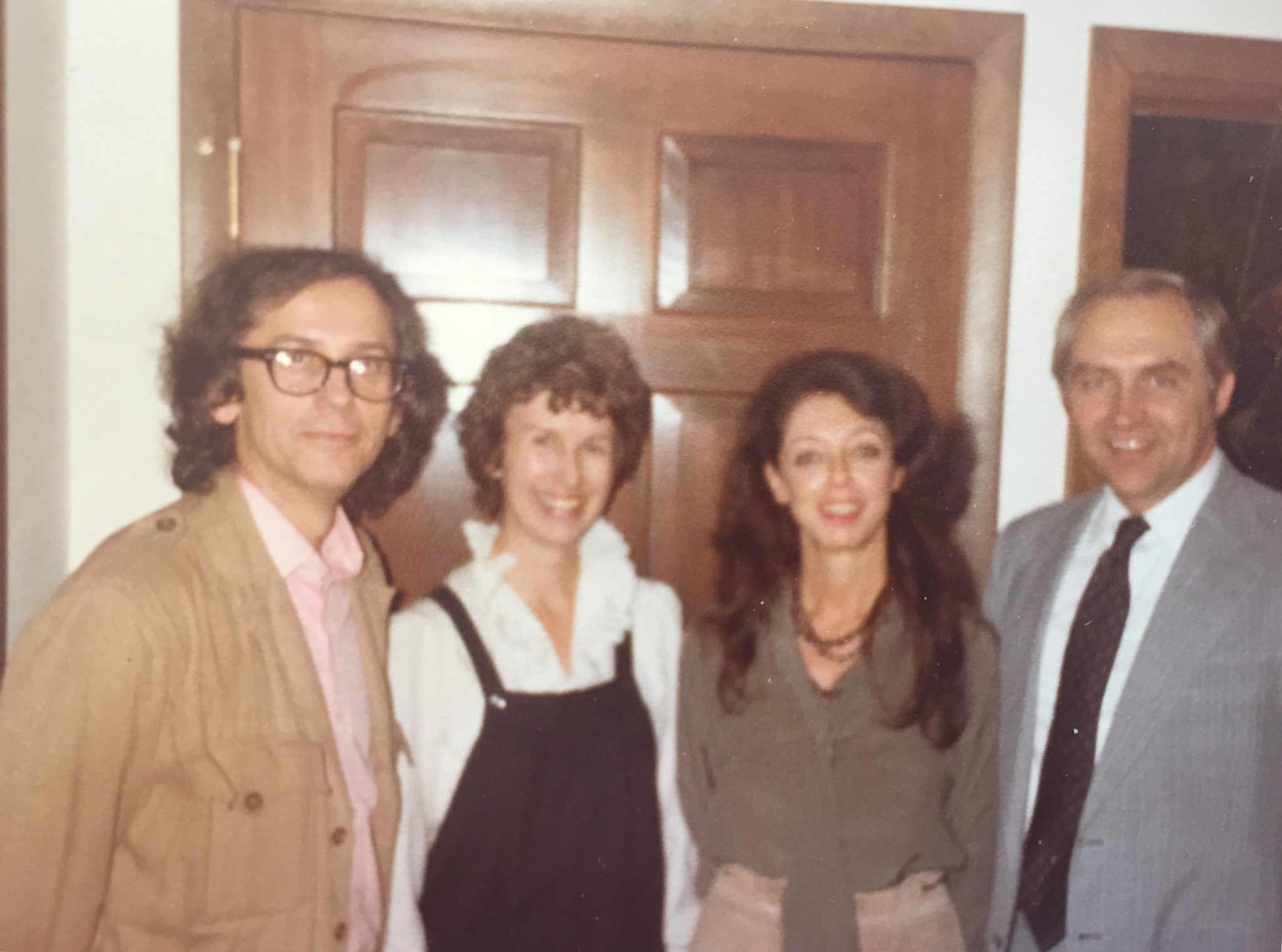 Christo and Jeanne-Claude with Christoffersons