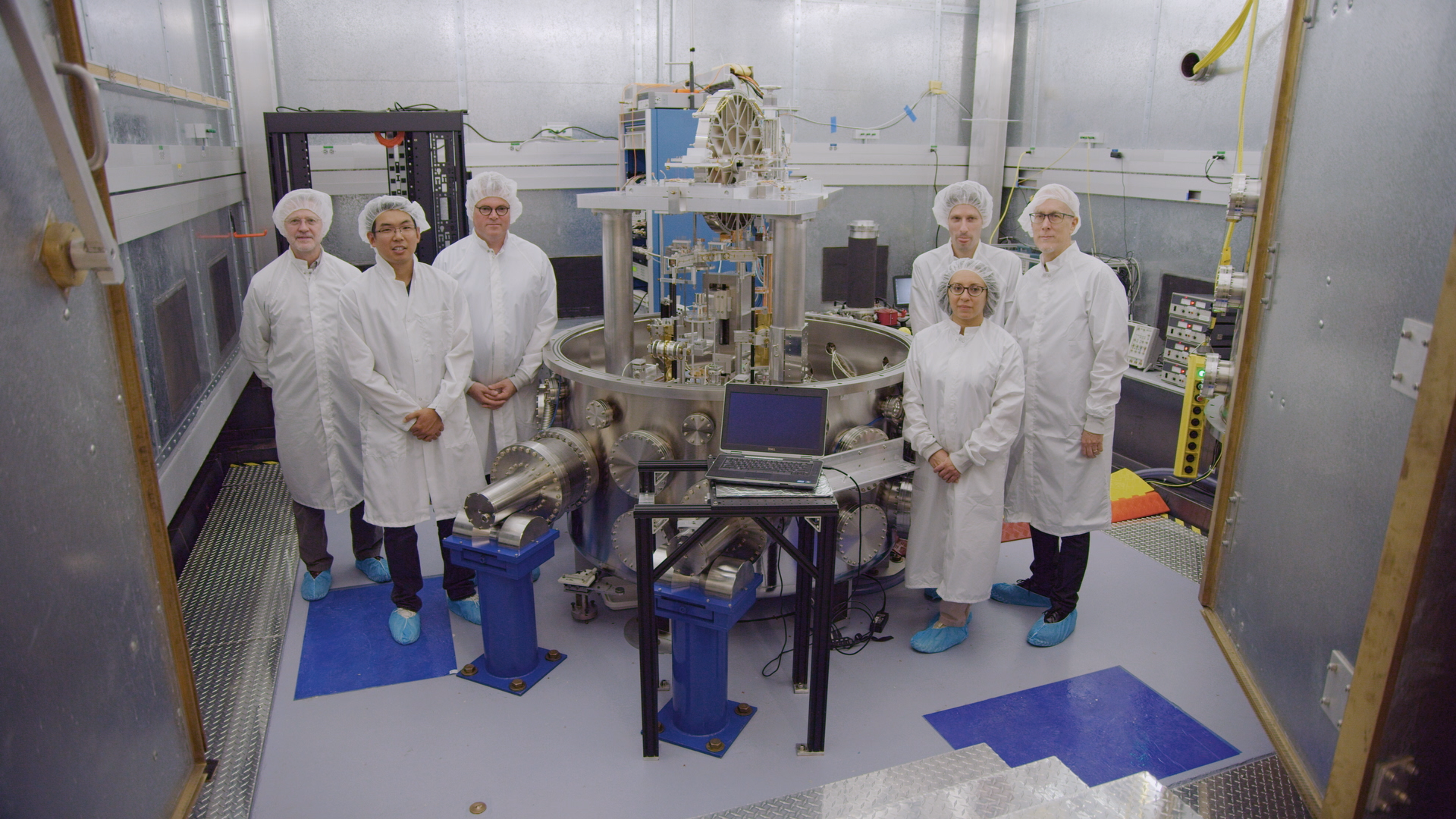 Scientists who worked on the project