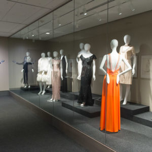 Exhibit in the Avenir Museum of Design and Merchandising