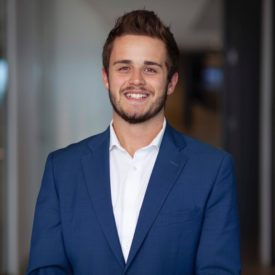 Master of Sport Management student Andy Wheeler