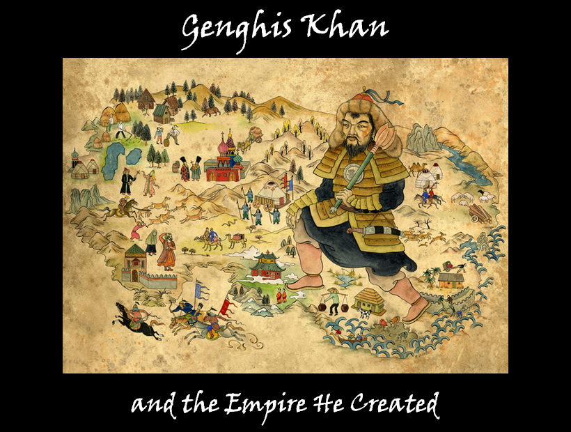 Poster of Genghis Khan exhibit