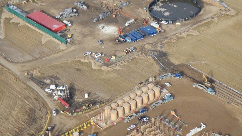 oil and gas fieldwork