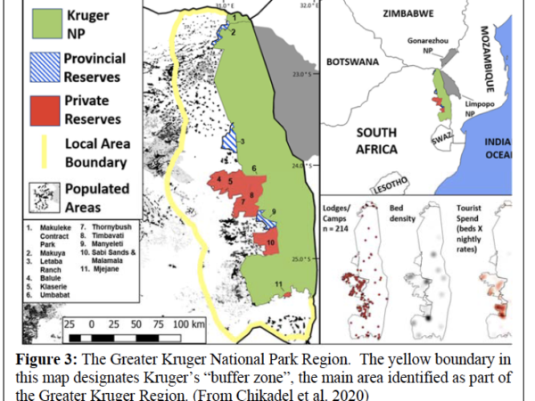 Kruger National Park map