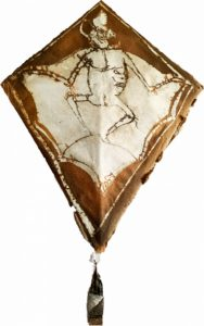 The Gregory Allicar Museum of Art exhibit 'Glorioserias' features 'Papalote (kite)' by After Francisco Toledo.