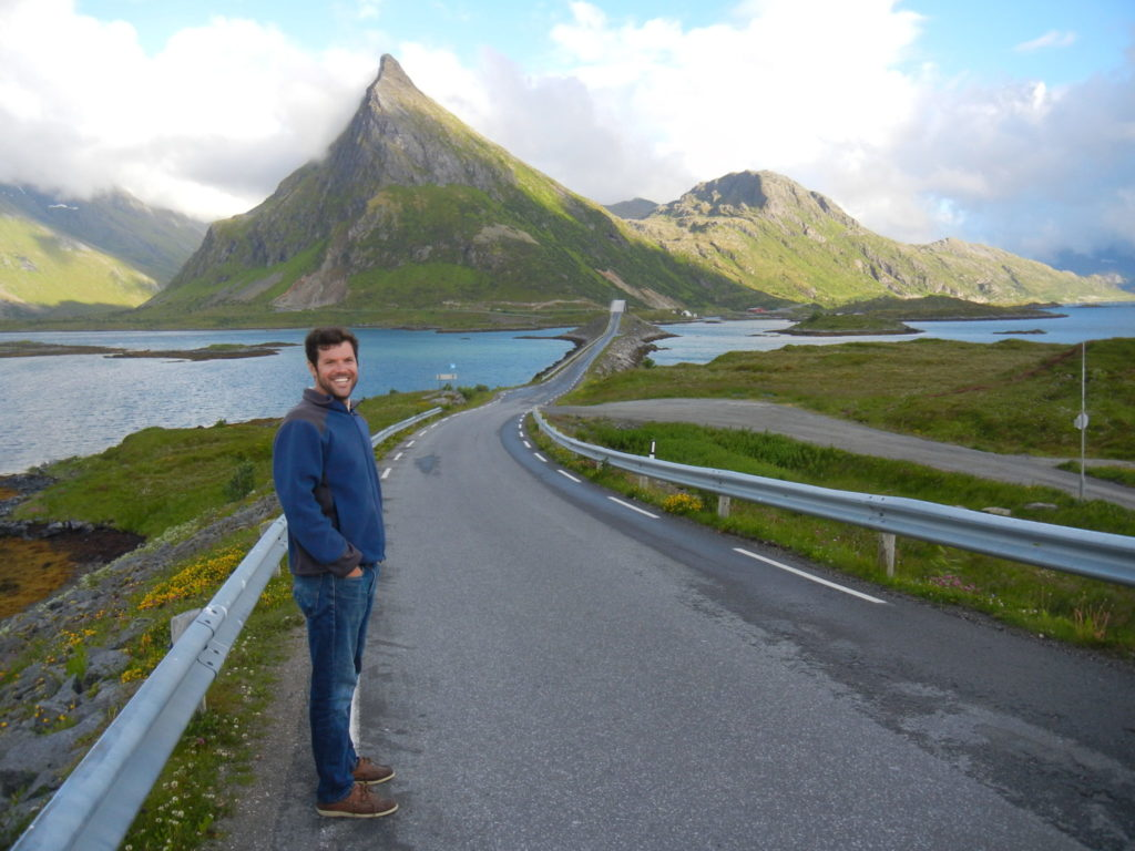 Douglas Finn, in Norway